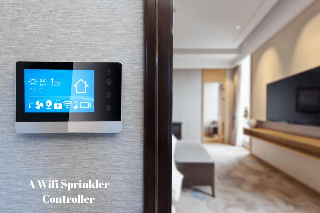 wifi sprrinkler controller